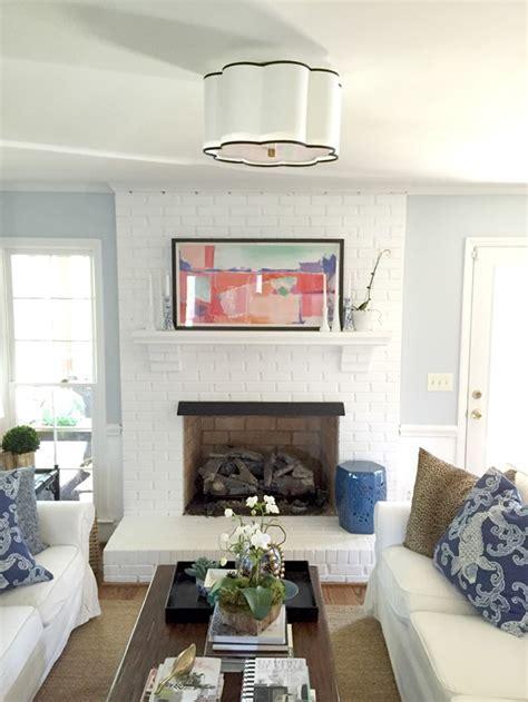 Flush Mount Lighting In The Living Room   Emily A. Clark