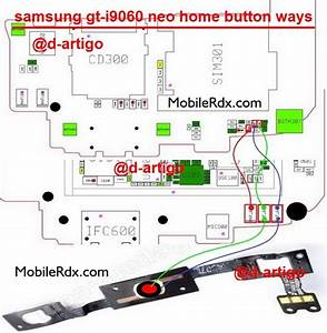 Samsung Neo I9060 Home Button Ways Problem Key Jumper