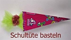 Schultüte Zum Basteln : schult te basteln anleitung deko ideen mit flora shop youtube ~ Orissabook.com Haus und Dekorationen