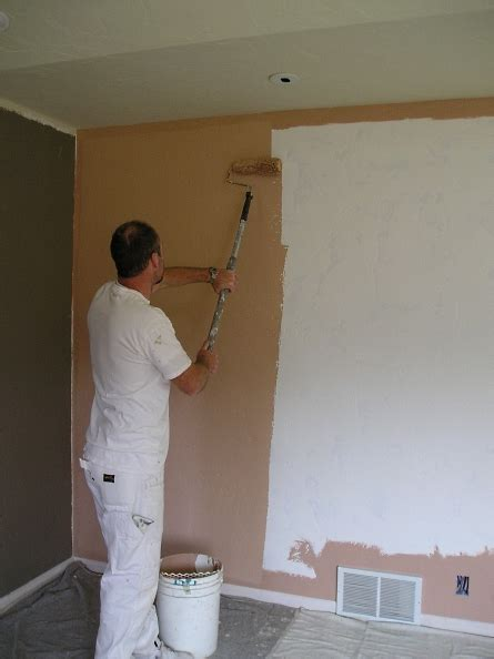 painting walls   roller