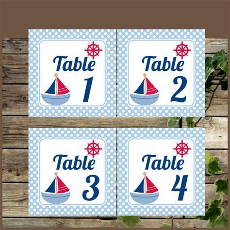 elegant printable table numbers kitty baby love