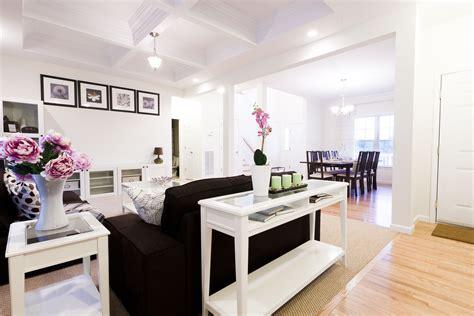 wonderful white open plan ikea living room  black