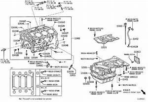 Toyota Sienna Pin  Ring For Timing Belt Idler Bracket Set