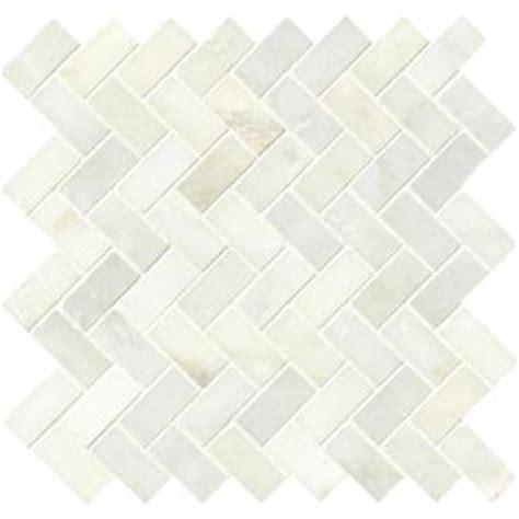 herringbone backsplash tile home depot ms international greecian white herringbone pattern 12 in