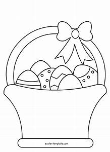Easter templates free printable wwwimgkidcom the for Easter picture templates
