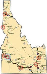 Boise Idaho State Map