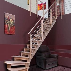 Escalier Double Quart Tournant Pas Cher : prix d 39 un escalier pos conseils thermiques ~ Premium-room.com Idées de Décoration