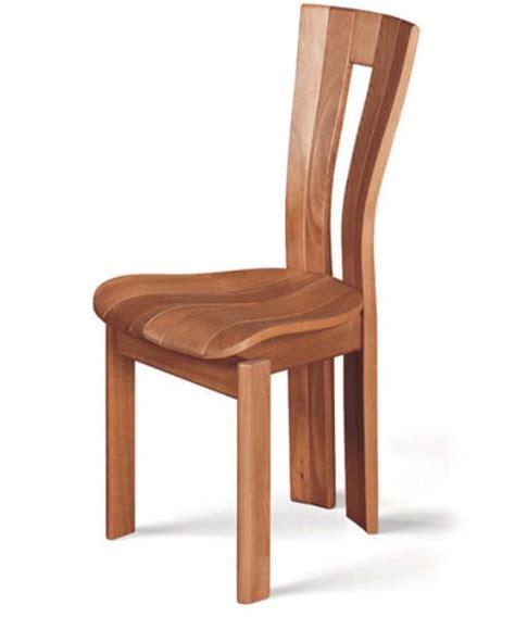 Chaises En Hêtre Aux Pieds Courbes  Bois Design Pinterest