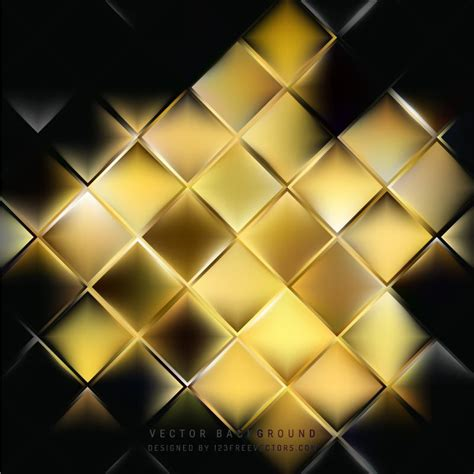 Abstract Black Golden by Abstract Black Gold Square Background Template In 2019