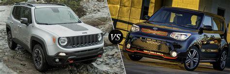 kia jeep 2016 2016 jeep renegade vs 2016 kia soul