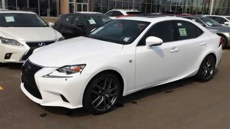 2015 lexus isf white 2015 lexus is 250 awd f sport series 3 review ultra