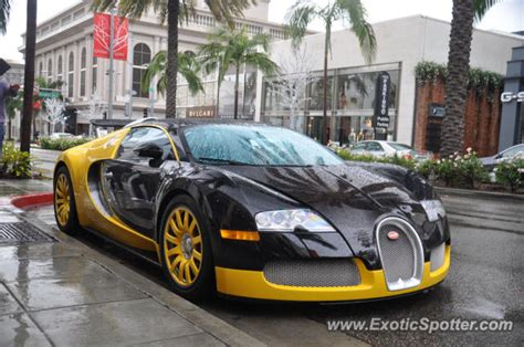 Bugatti Veyron Spotted In Beverly Hills, California On 12