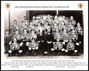 6 great britain rugby league team photographs 1910-1936 ...