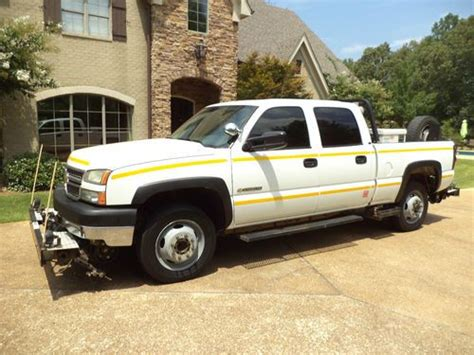 Buy Used 2005 Chevrolet 2500 Crew Cab Railroad Truck One