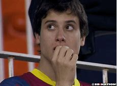 Barcelona fans are very sad about their loss today