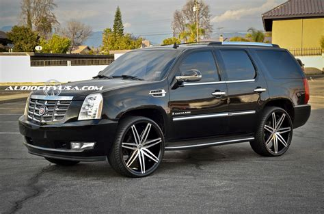 chevrolet silverado with 24in lexani johnson ii wheels cadillac escalade custom wheels lexani johnson 26x10 0 et