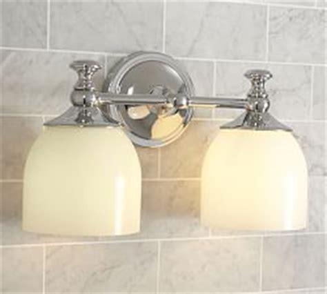 bathroom sconces pottery barn