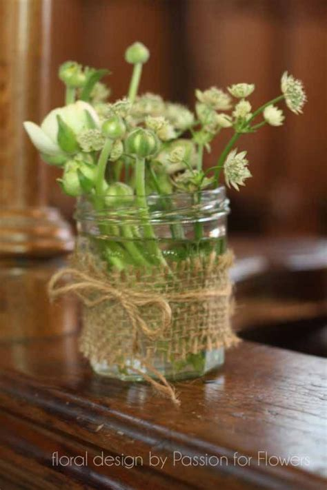 images  flowers hessian  pinterest
