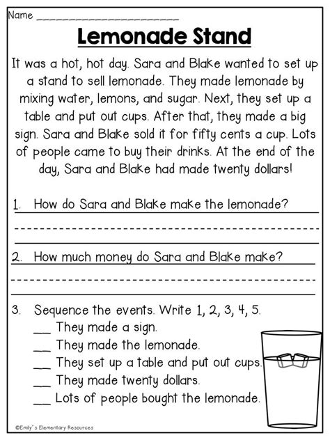 Summer First Grade Review Printables | First grade reading ...