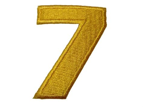 Zahlen Zum Aufnähen by Aufn 228 Aufb 252 Gler Zahl Ziffer Gelb Alle Zahlen