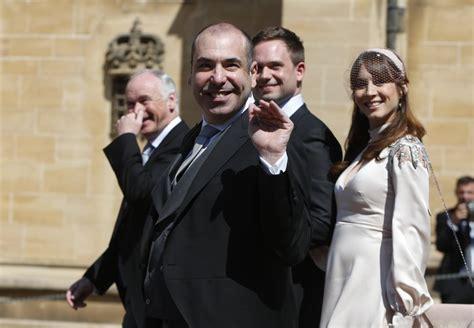 suits cast   royal wedding  popsugar