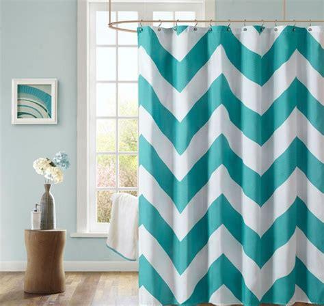 Teal Chevron Curtains Walmart by Curtain Interesting Teal Shower Curtain Shower Curtains