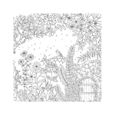 secret garden coloring book jardin secret on secret gardens anti stress