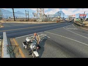 GTA V - Police Bike Location - YouTube