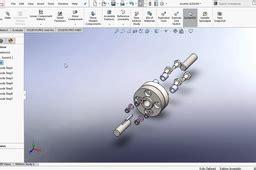 design  flexible flange coupling  solidworks grabcad tutorials