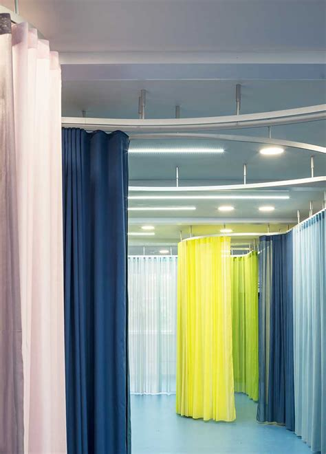 architecture aberrant london curtains designboom rosemary works redesign continues phase curtain sculptural rails colored read