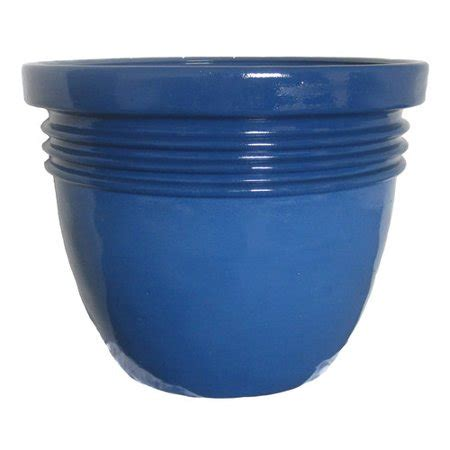 better homes and gardens planters better homes and gardens bombay decor 24 quot planter blue