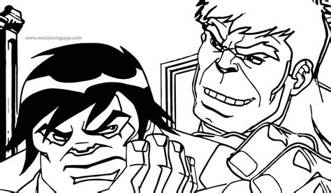 Hulk And Brother Avengers Coloring Page Also see the