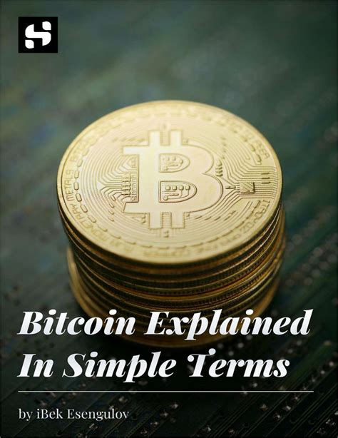 Let's review again, explaining bitcoin in simple terms. Bitcoin Explained In Simple Terms - Paperpicks Leading Content Syndication and Distribution Platform