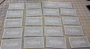 Custom Glass Etching Stencils | Decals, Stencils, Signs, T ...