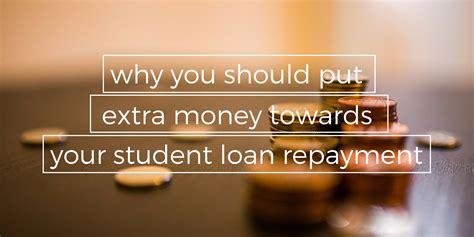 put money aside for student loan repayment lendedu