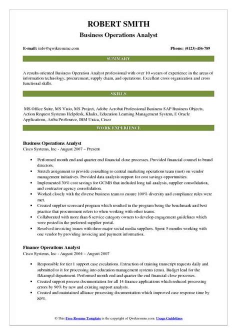 Business Operations Analyst Resume Samples  Qwikresume. Employer Resume Search. Sample Of Objective Resume. Resume Format For Montessori Teacher. Cover Letter For Resume With No Experience. Download A Sample Resume. Subject Of Resume Email. Edit Resume Template Word. Beauty Therapist Resume Template