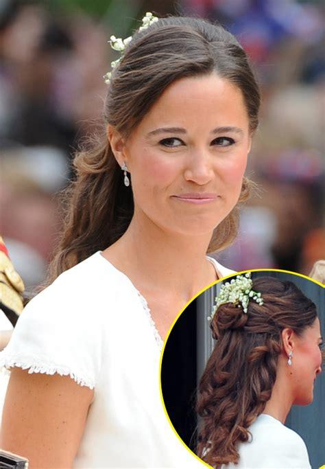 pippa middletons royal wedding hair    create