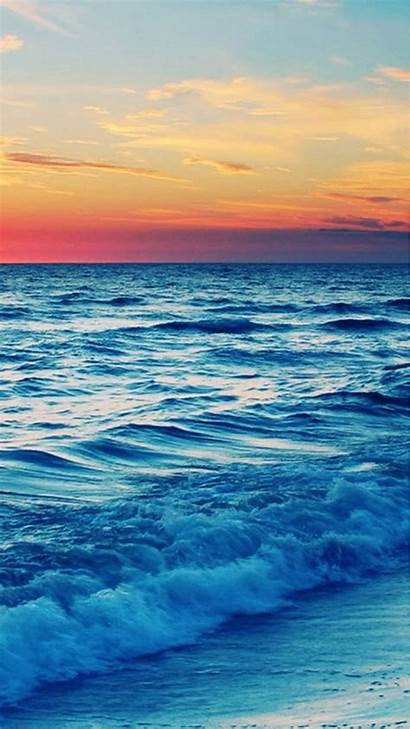 Phone Iphone Wallpapers Sea Landscape Nature Wave
