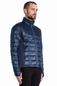 Canada Goose Hybridge Lite Jacket In Blue For Men Lyst