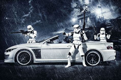 bmw stormtrooper  vilner previews star wars episode vii