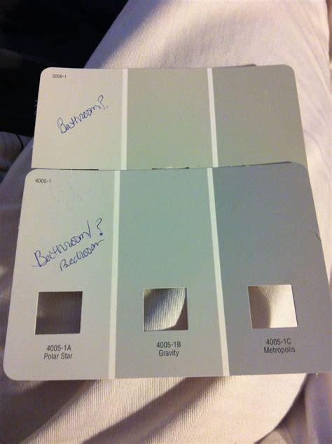possible paint colors valspar polar gravity for