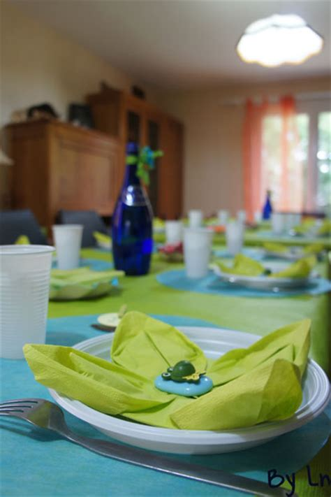 d 233 coration de table pour l anniversaire d un enfant