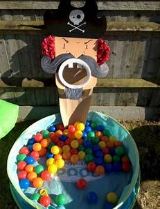 Pirate Ball Toss Game   Fun Family Crafts