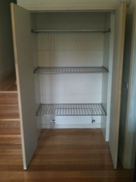 Bed In A Cupboard Australia by Drying Cupboard For Laundry With A Central Heating Duct