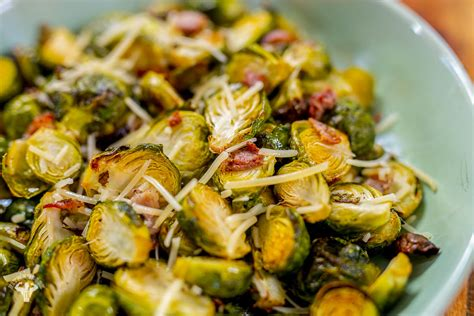 sprouts brussels bacon air fried fat
