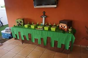 #minecraft party theme party Pinterest