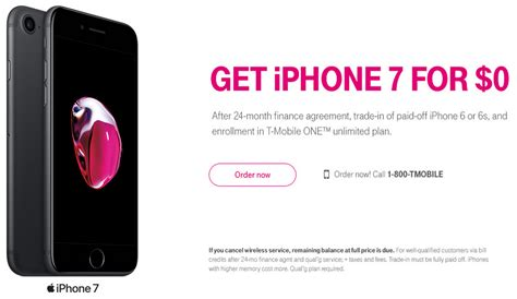 iphone from t mobile free iphone 7 for t mobile customers southern savers
