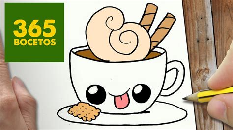 como dibujar cafe kawaii paso a paso dibujos kawaii faciles how to draw a coffee