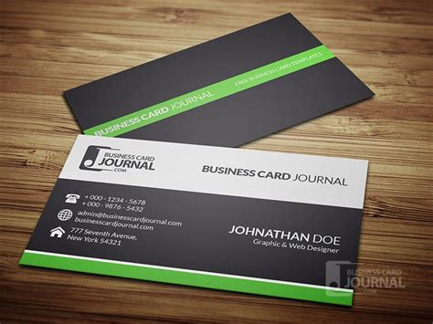 //businesscardjournal.com/clean Visiting Card Images Business Shapes Photoshop Using Cs6 Create Cards In Word For Mac On Instagram Design Making Illustrator Template Cc