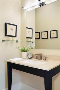 tableau salle de bain et cadre decoratif en 40 idees top With salle de bain design avec tableaux décoratifs